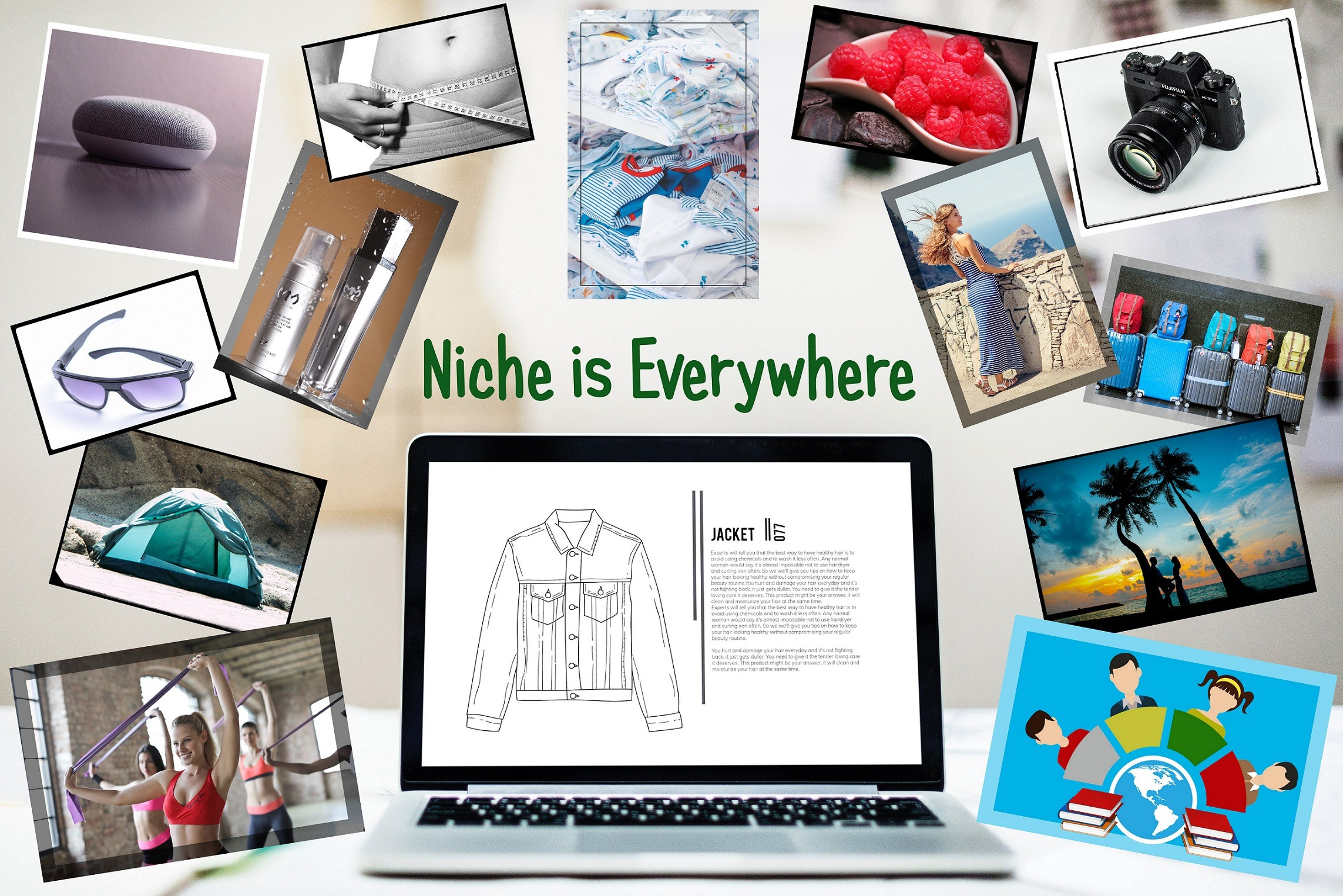 What is niche in affiliate marketing?
