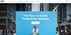 Do you know what is the best blogging platform to make money? Try Wix.