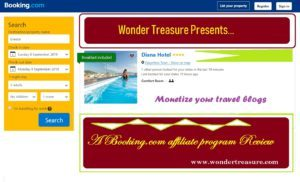 Booking.com Affiliate Program Review – Monetize Your Travel Website