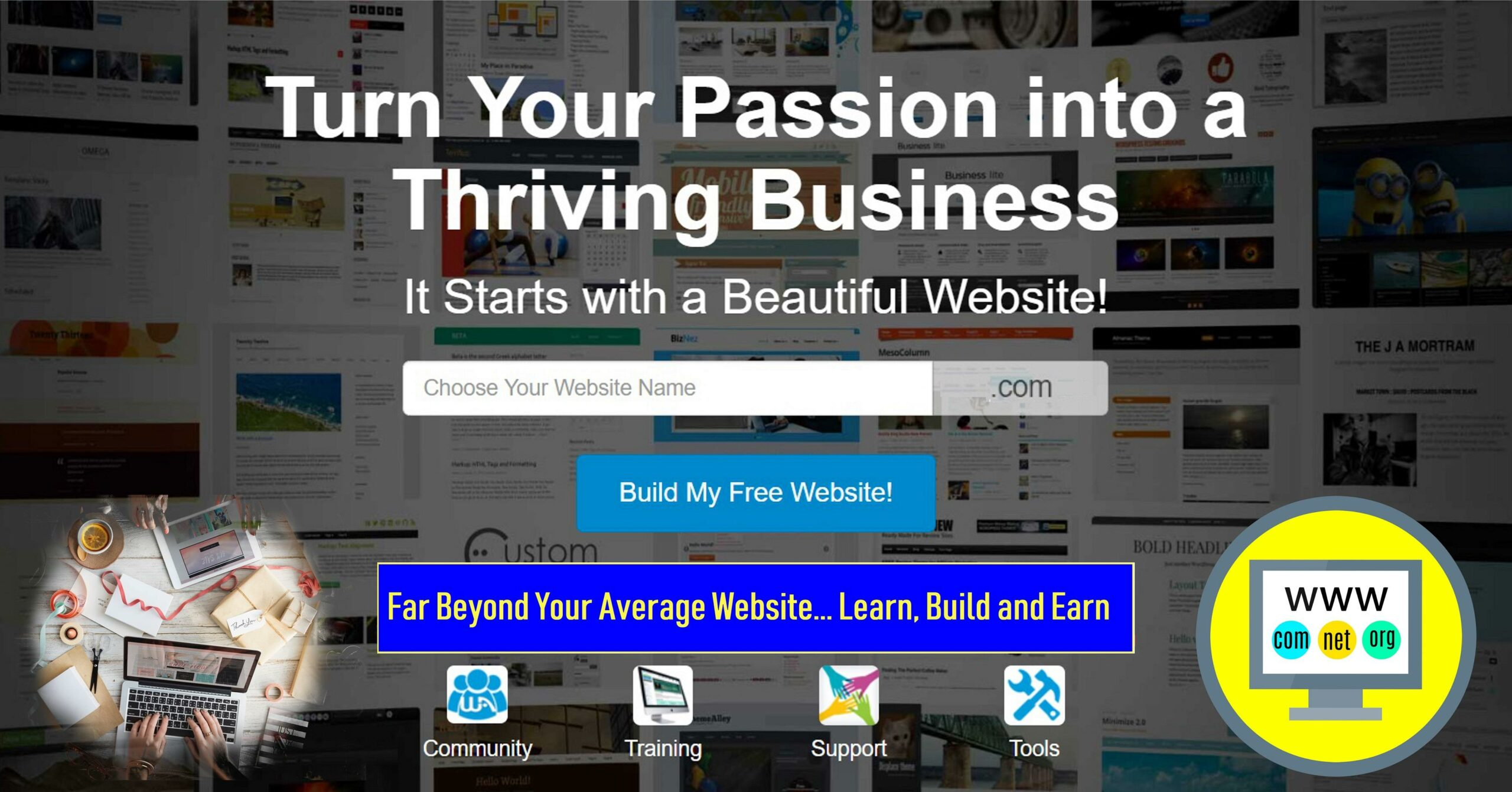 You are currently viewing How to Create a Free Website to Earn Money: Learn and Earn with Wealthy Affiliate