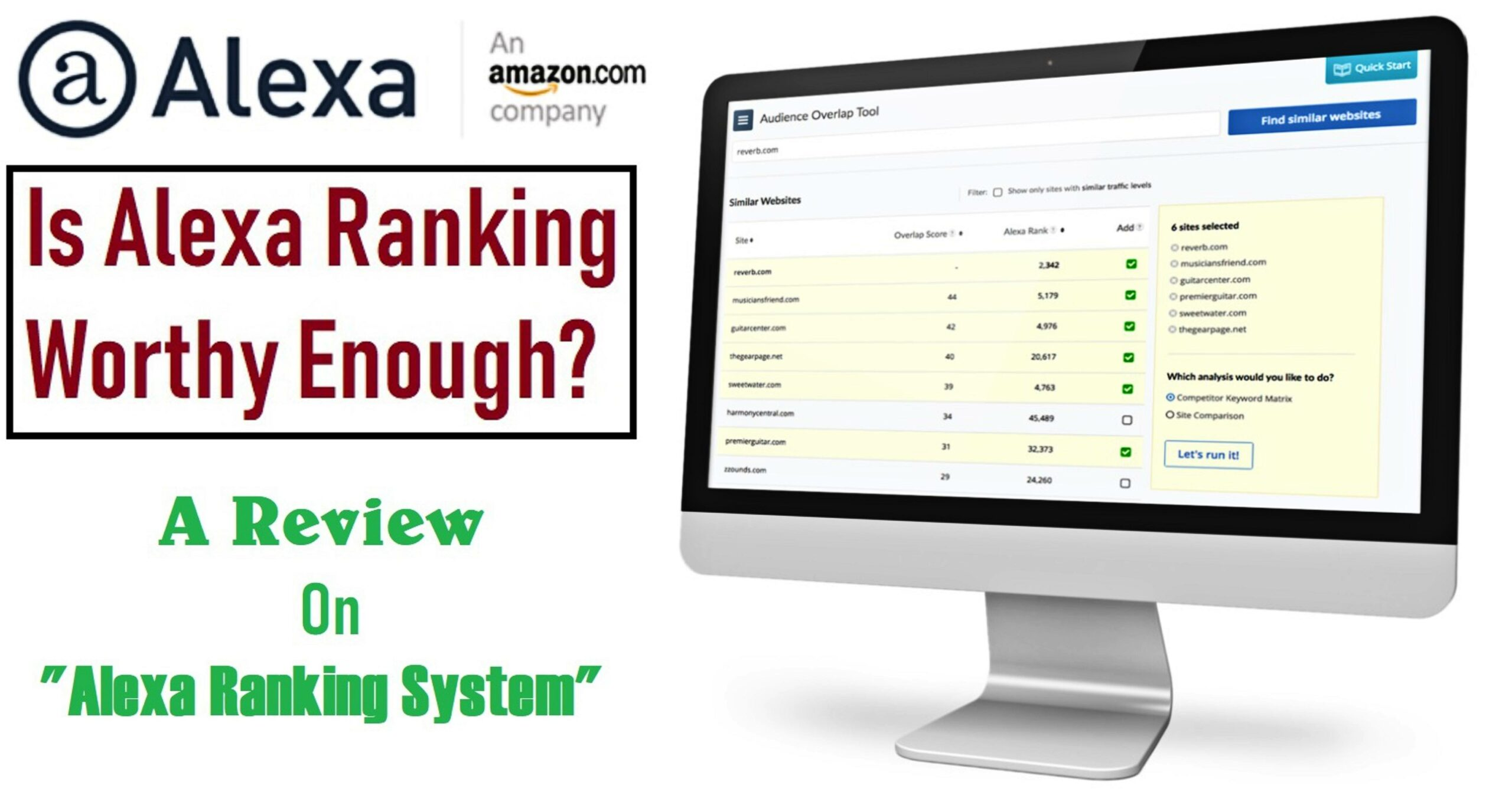 Alexa Site Traffic – Is Alexa Ranking System Useful for A Profitable Online Business?
