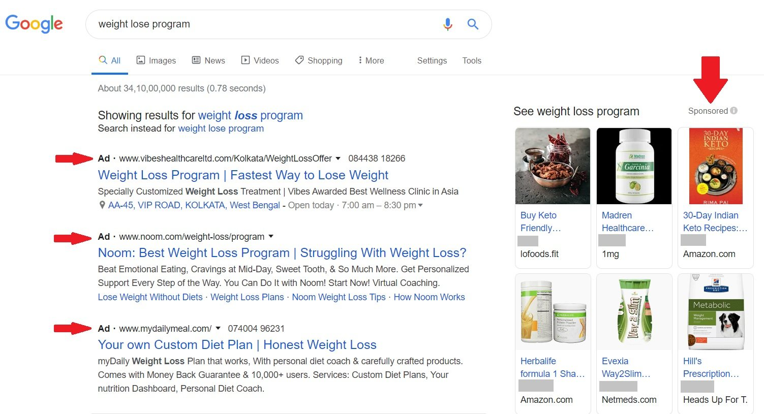 Want to known how to learn SEO basics - but this are paid Ads