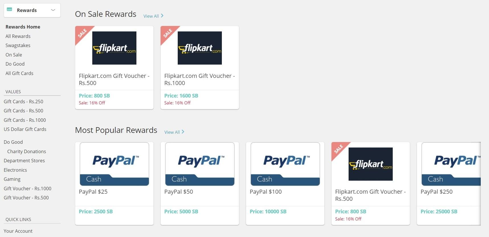 Is Swagbucks scam - Redeem option
