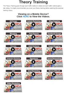 Simple Traffic Solutions video training modules