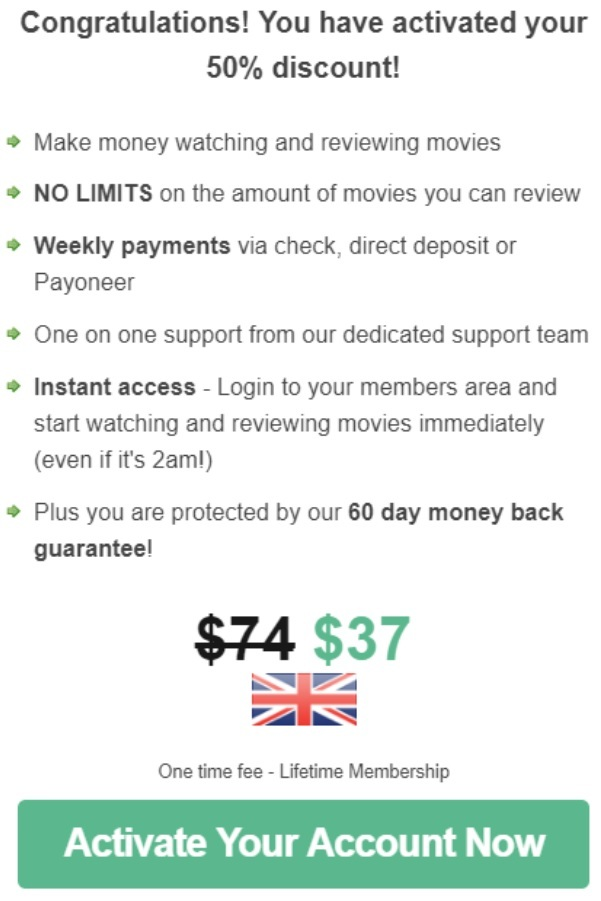 What is Movie Review Profits - Activate