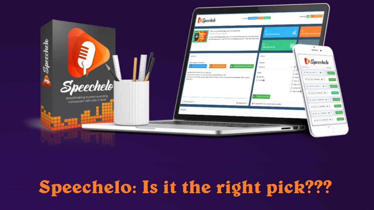 Speechelo Review: Convert Text to Voice Online