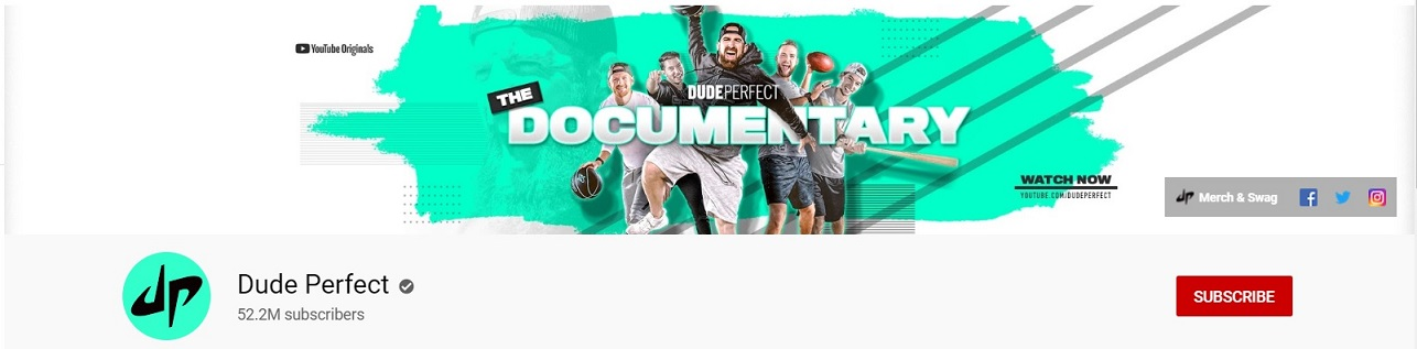 Top 10 Richest YouTubers: #8 - Dude Perfect
