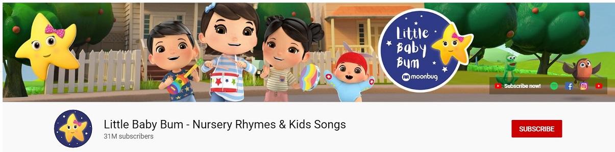Top 10 Richest YouTubers: #5 - Little Baby Bum - Nursery Rhymes & Kids Songs